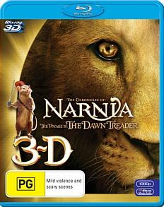 Chronicles of Narnia-Voyage of the Dawn Treader (Blu-ray 3D) -