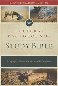 NIV Cultural Backgrounds Study Bible, Hardcover -
