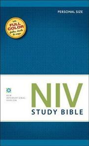 NIV Bible 2011 Study Personal Hardcover -