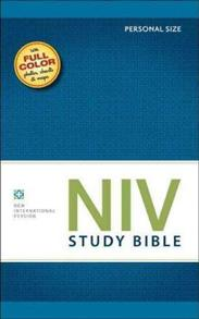 NIV Bible 2011 Study Personal Softcover -