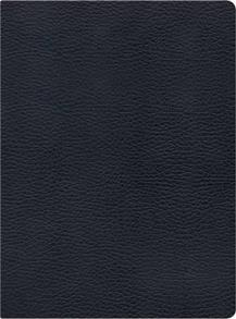 NKJV Bible Study Leather Black -