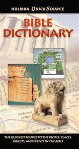 QuickSource Bible Dictionary Paperback -