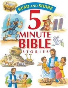 Read and Share - 5 Minute Bible Stories Hardcover -