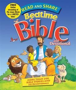 Read and Share Bedtime Bible and Devotional Hardcover -