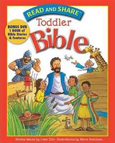 Read and Share Toddler Bible Hardcover with DVD -