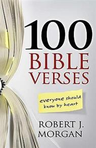 100 Bible Verses Everyone Should Know by Heart ( MorganJ) Paperback -