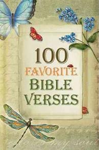 100 Favorite Bible Verses Hardcover -