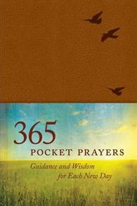 365 Pocket Prayers Leatherlike Brown -