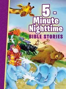 5-Minute Nighttime Bible Stories Padded Hardcover -
