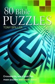 80 Bible Puzzles ( SpillerT.) Paperback -