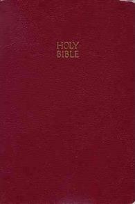 KJV Bible Reference Giant Print Imitation Leather Burgundy -