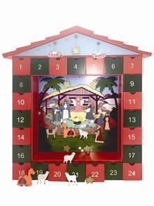 Advent Calendar: Wooden -
