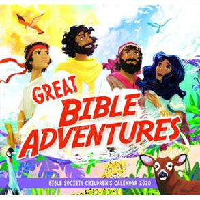 2020 Children's Calendar, Great Bible Adventures -