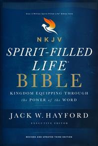 NKJV Comfort Print Spirit-Filled Life Bible, Third Edition, Hardcover -