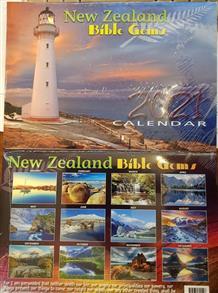 2021 New Zealand Bible Gems Calendar -