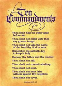 Ten Commandments -