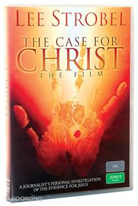 Dvd Case For Christ, The (The Film) -