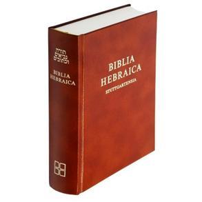 Biblia Hebraica Stuttgartensia -