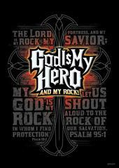 God is My Hero Large Poster -