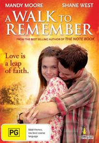 A Walk To Remember DVD -