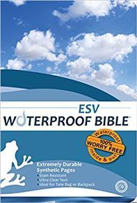 ESV Bible Waterproof Blue Wave -