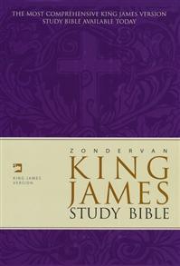 KJV Bible Study Hardcover -
