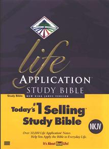 NKJV Bible Study Life Application Hardcover -