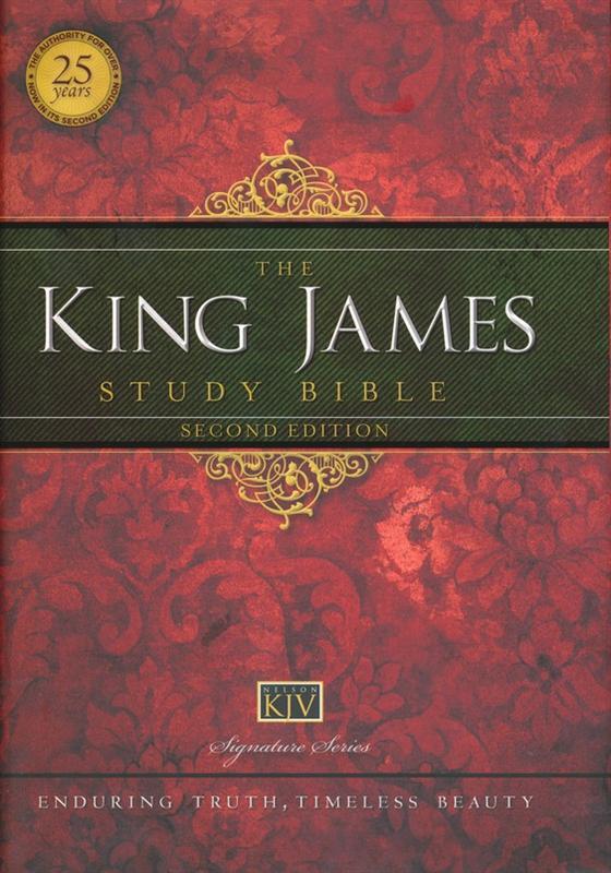 king james study bible thomas nelson