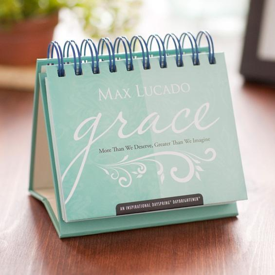 Max Lucado Grace Perpetual Calendar By Max Lucado At Christian