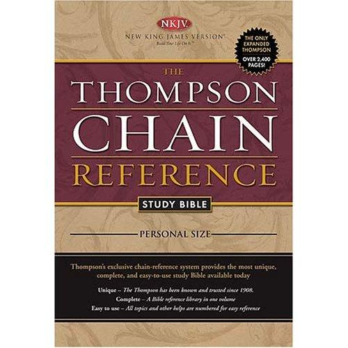 Bible thompson chain pdf reference