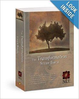 Transformation Study Bible NLT by Dr  Warren Wiersbe at Christian